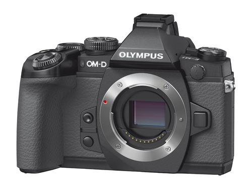 Olympus OM-D E-M1: Frontal
