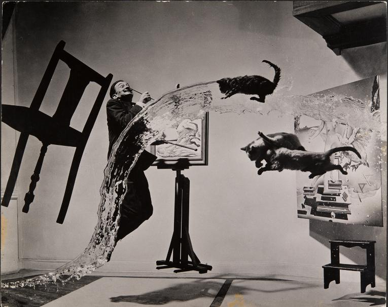 Dali Atomicus 1948 (c) 2013 Philippe Halsman Archive Magnum Photos_Images Rights of Salvador Dali reserved