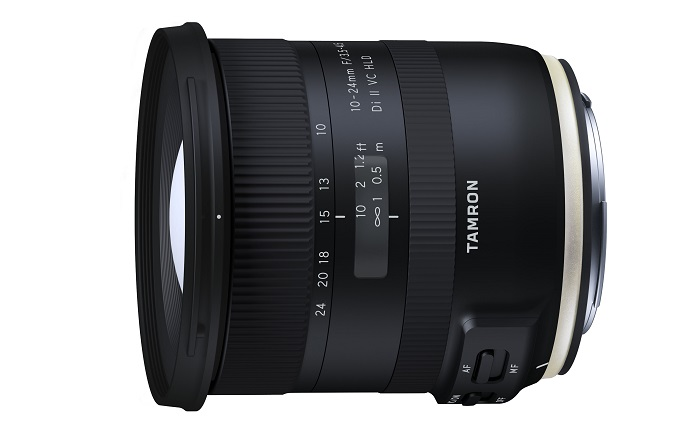 Nuevo Zoom ultra angulas 10-24mm F/3.5-4.5 de Tamron