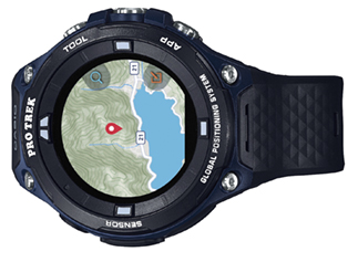 CASIO Lanza el Reloj Outdoor PRO TREK Smart