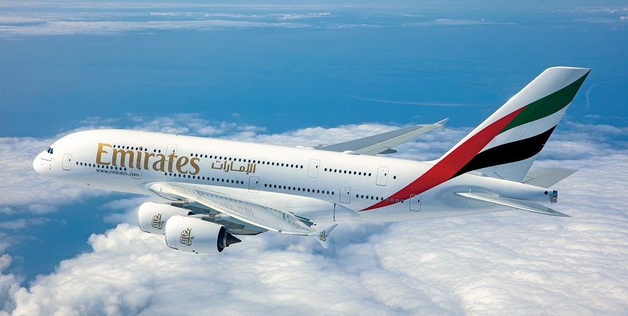 Emirates introduce el A380 en Guangzhou