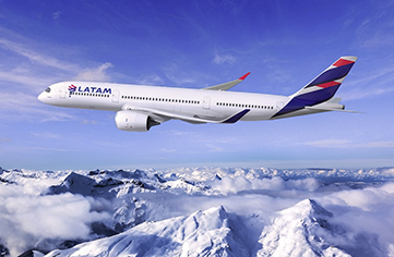 Latam Airlines te acerca en vuelo directo a Chile desde Madrid