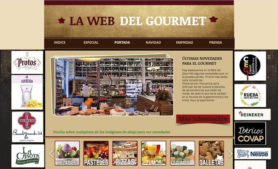 Nace LAWEBDELGOURMET.com, un espacio para la buena gastronomía y los vinos